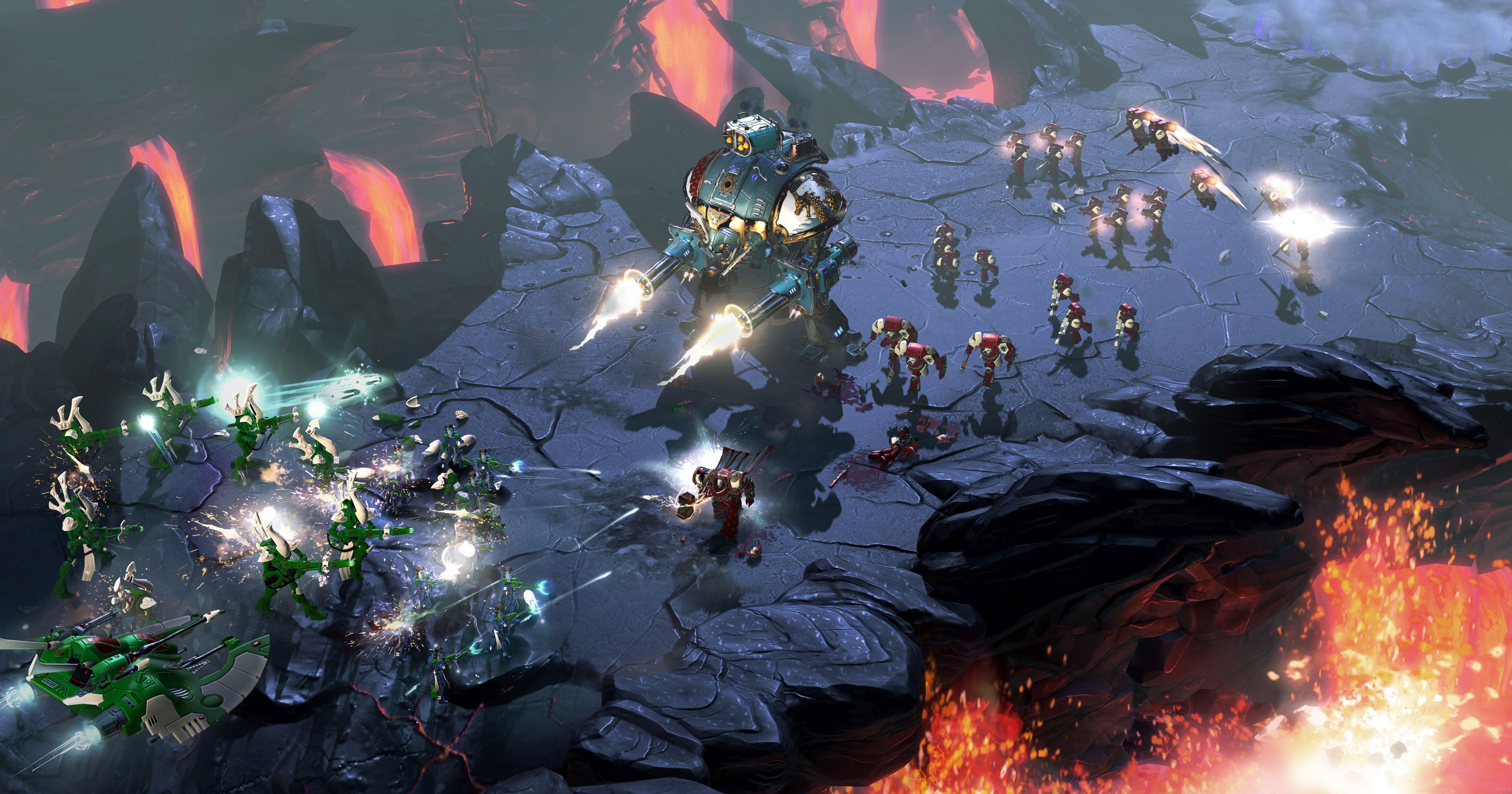 Первые оценки Dawn of War III