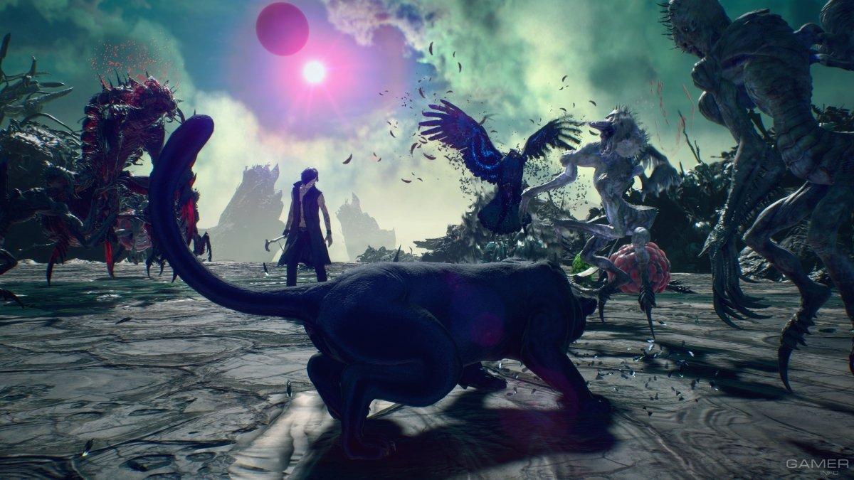 Классический режим «Кровавый дворец» появится в Devil May Cry 5