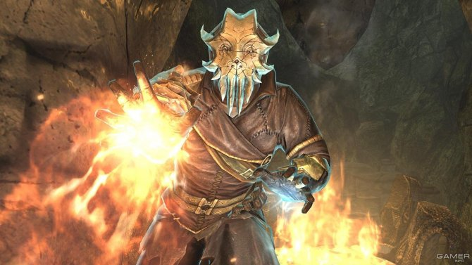 Скриншот игры The Elder Scrolls V: Skyrim