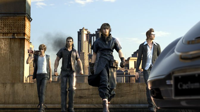 Объявлена дата выхода DLC Comrades для Final Fantasy XV