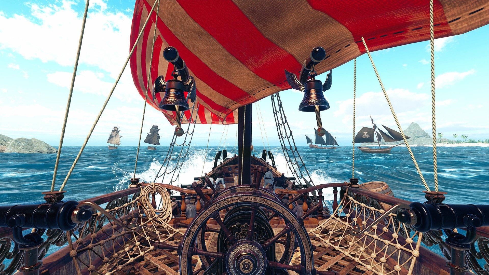 картинка палуба пиратского корабля турин часто