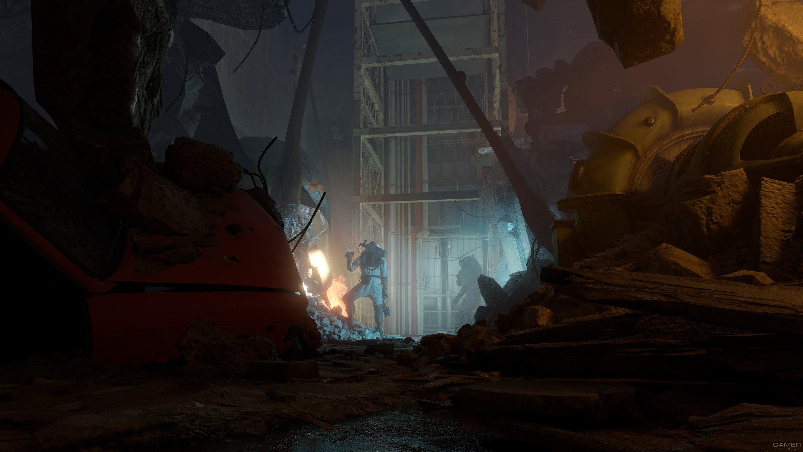 Состоялась премьера VR-шутера Half-Life: Alyx