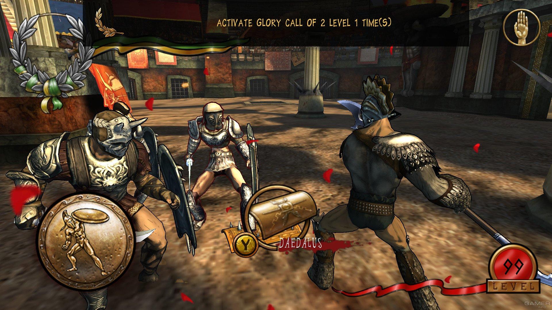 gladiatorial games