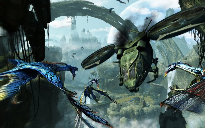 Скриншот игры James Cameron's Avatar: The Game