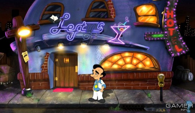 Скриншот игры Leisure Suit Larry in the Land of the Lounge Lizards: Reloaded