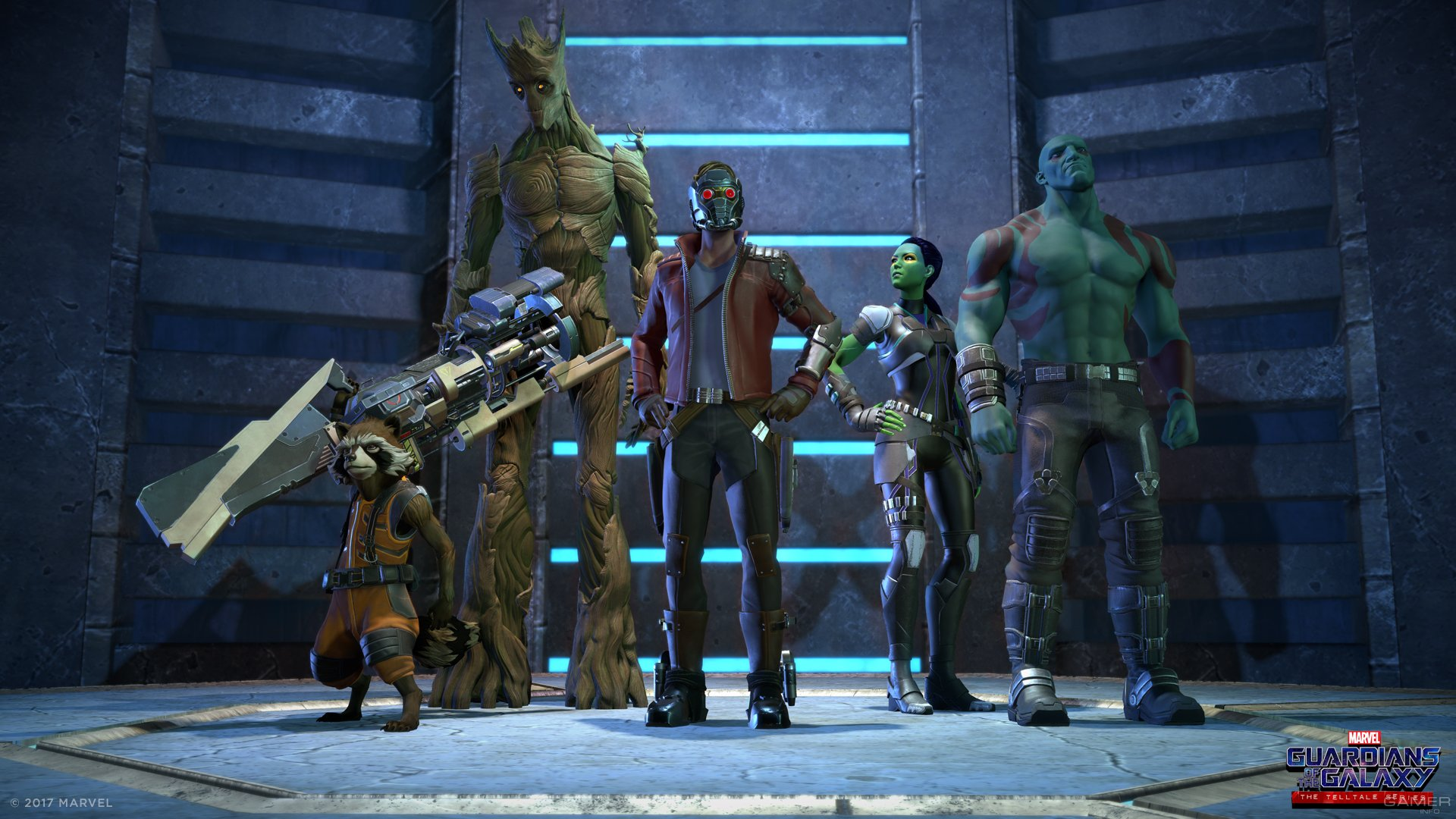 Первые подробности Guardians of the Galaxy: The Telltale Series