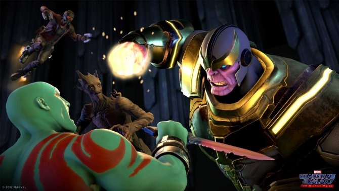 Скриншот игры Marvel's Guardians of the Galaxy: The Telltale Series