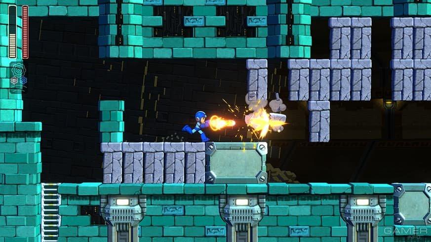 Вышла демоверсия Mega Man 11