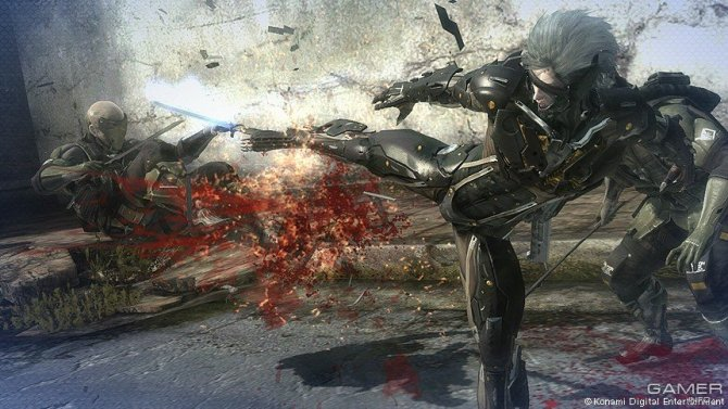 Скриншот игры Metal Gear Rising: Revengeance