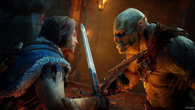 Скриншот игры Middle-earth: Shadow of Mordor