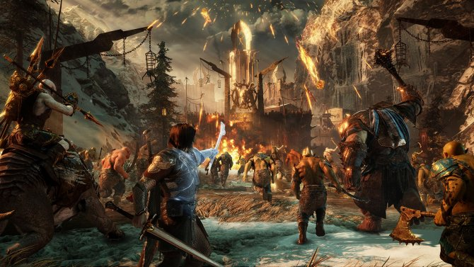 Скриншот игры Middle-earth: Shadow of War