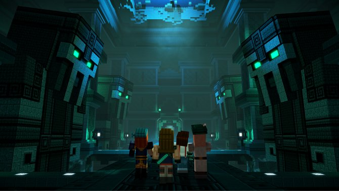 Скриншот игры Minecraft: Story Mode Season 2 - A Telltale Games Series