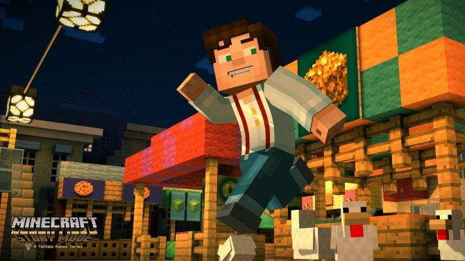 Скриншот игры Minecraft: Story Mode - A Telltale Games Series