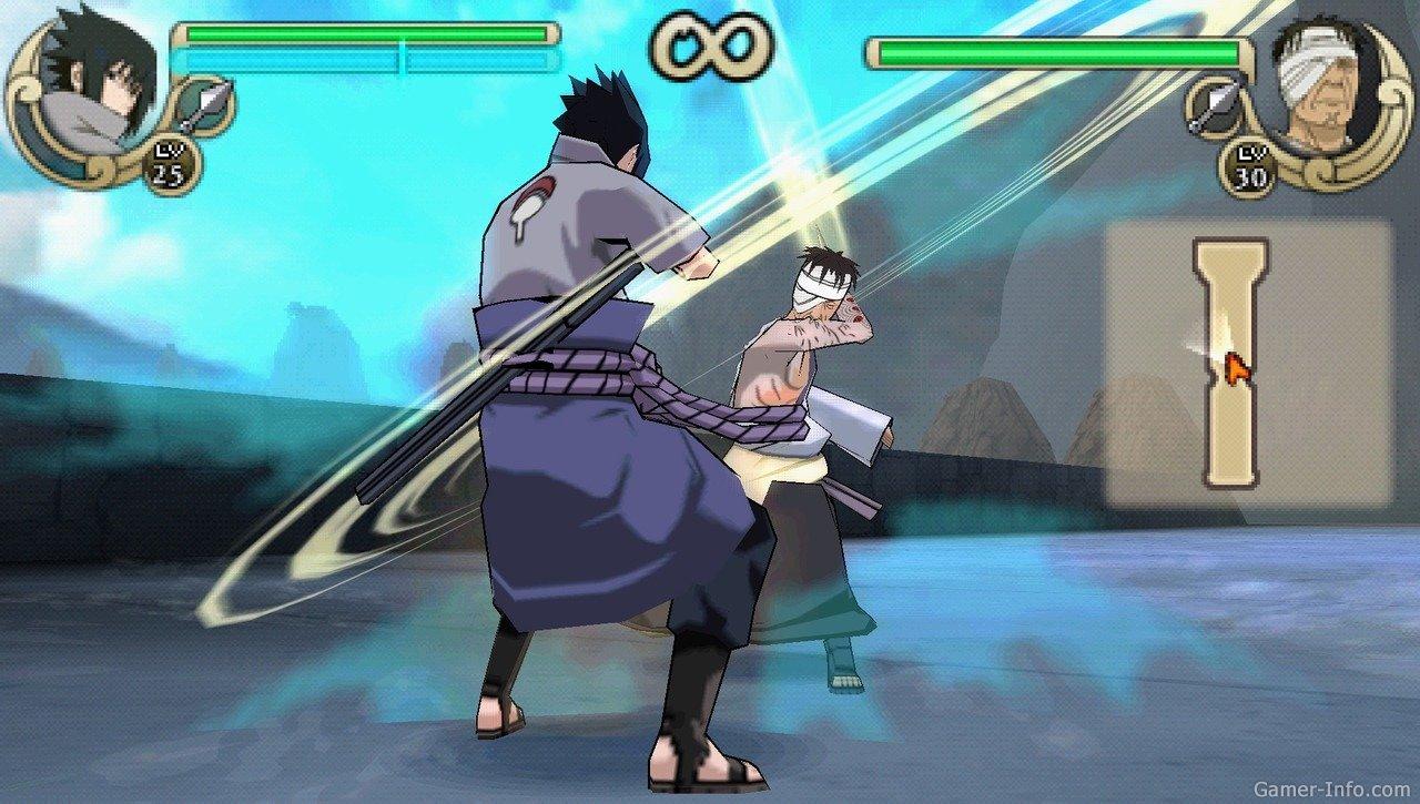 naruto ultimate ninja impact psp скачать торрент