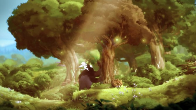 Скриншот игры Ori and The Blind Forest