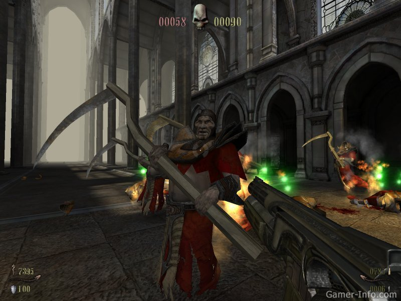 Прохождение Игры Painkiller Крещёный Кровью