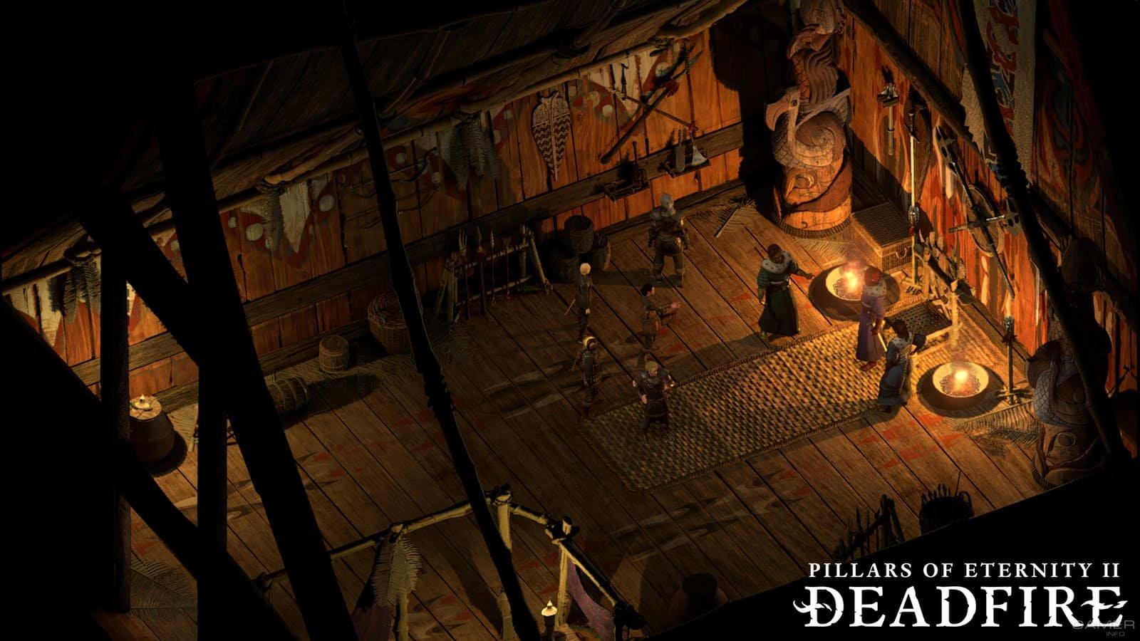 Стартовал закрытый бета-тест Pillars of Eternity II: Deadfire