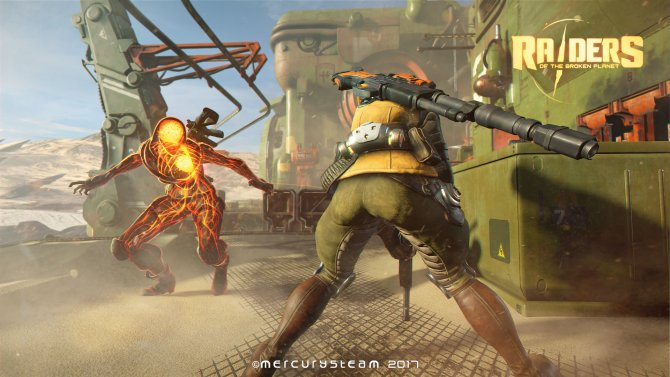 Скриншот игры Raiders of The Broken Planet