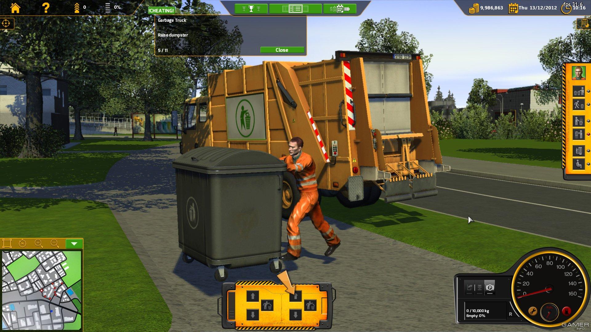Скачать через торрент симулятор мусоровоза