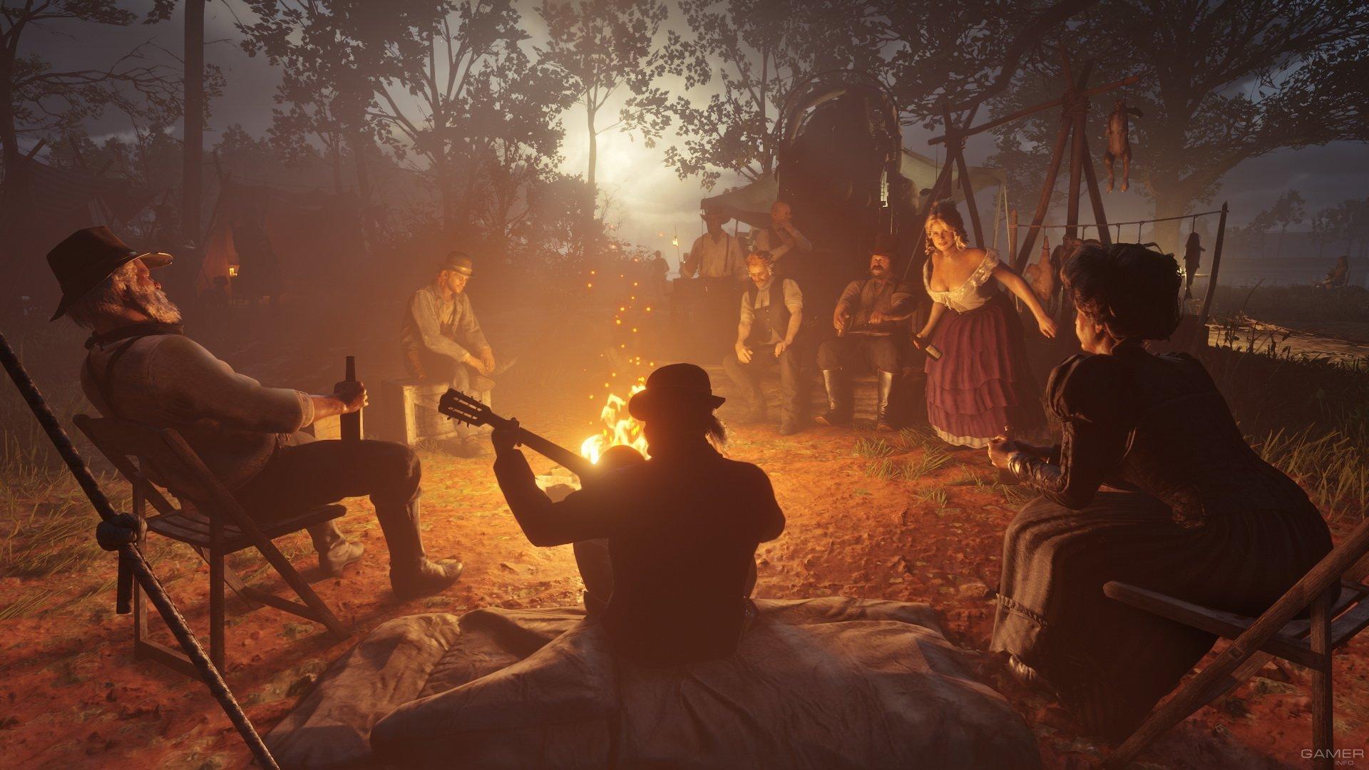 Детали мультиплеерного режима Red Dead Redemption 2