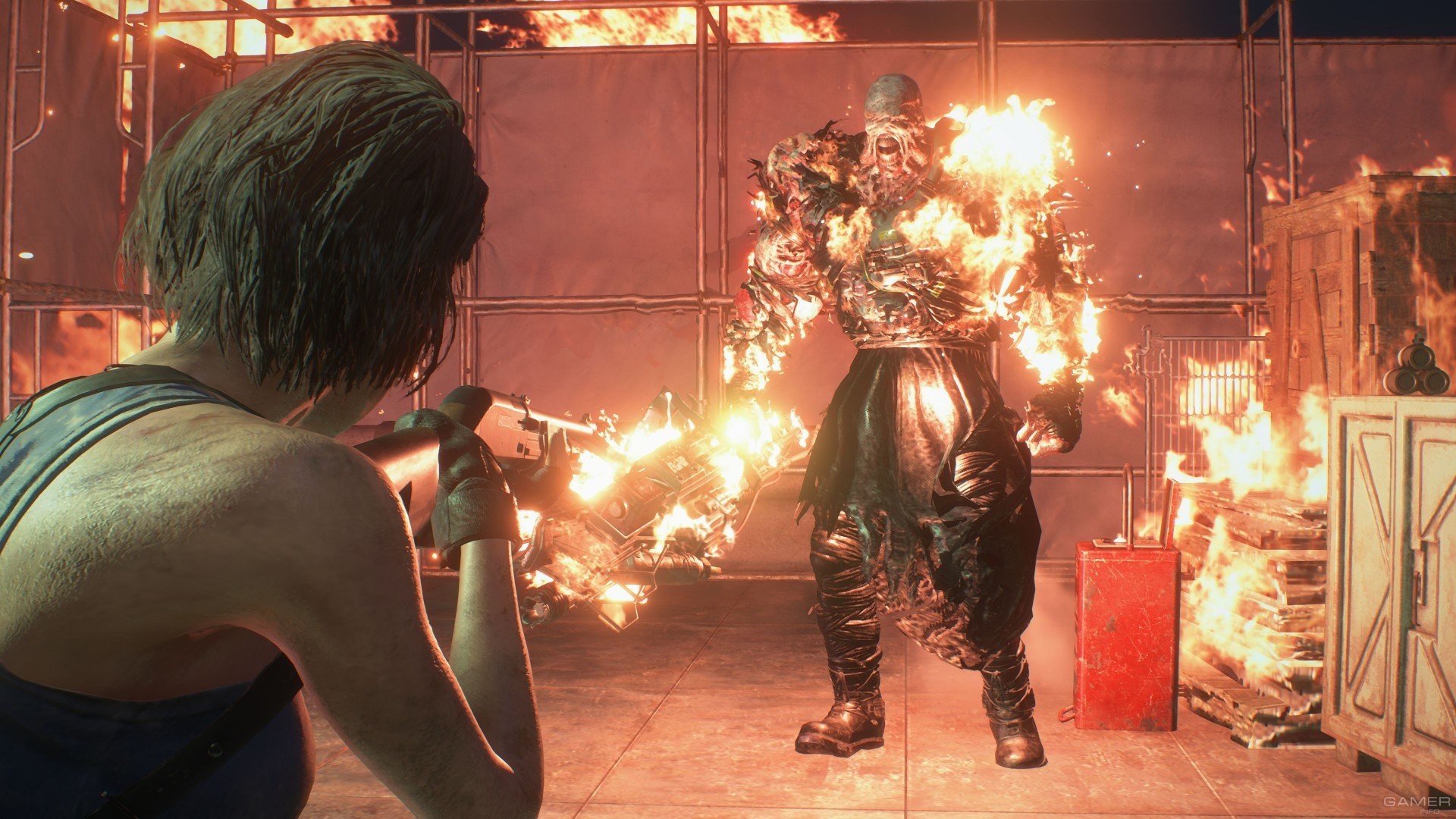 Ремейк Resident Evil 3: свежий геймплей, демоверсия и скриншоты