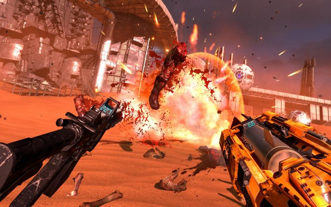 Скриншот игры Serious Sam VR: The Last Hope