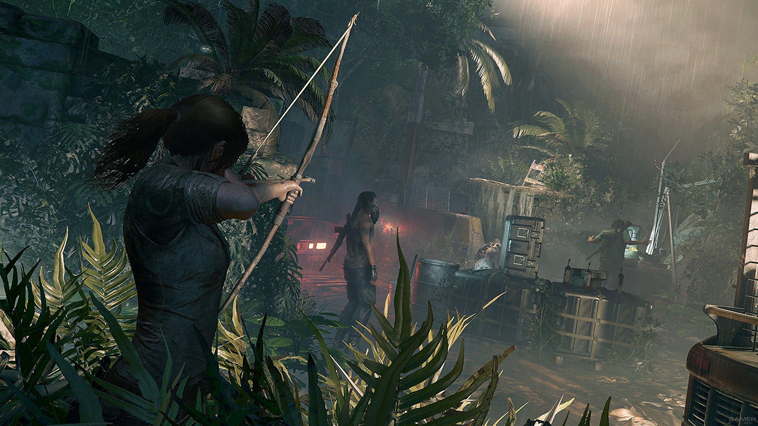 Первые скриншоты Shadow of the Tomb Raider
