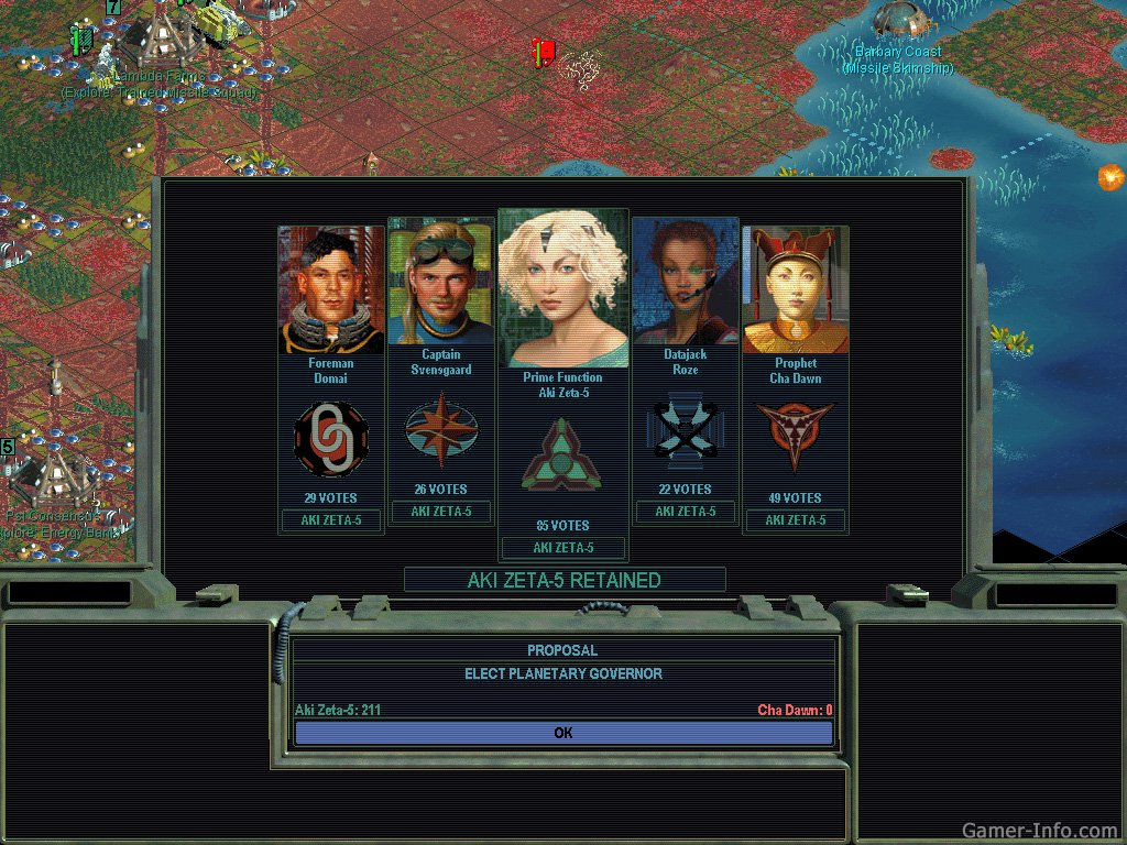 Скриншоты Sid Meier's Alpha Centauri: Alien Crossfire