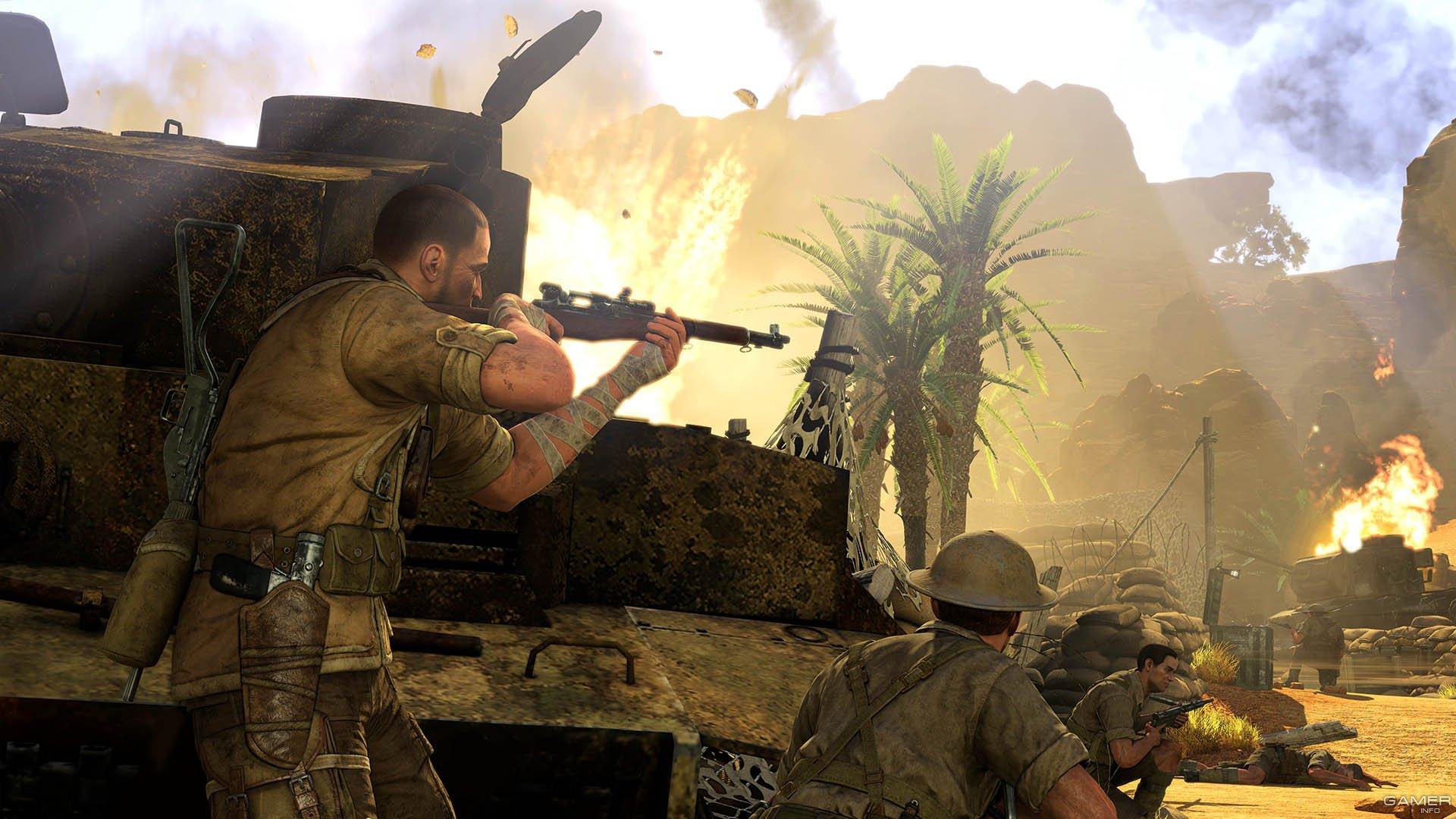 Операция Снайпер (Sniper Fury) - обзор игры на …