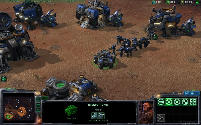 Скриншот игры StarCraft 2: Wings of Liberty