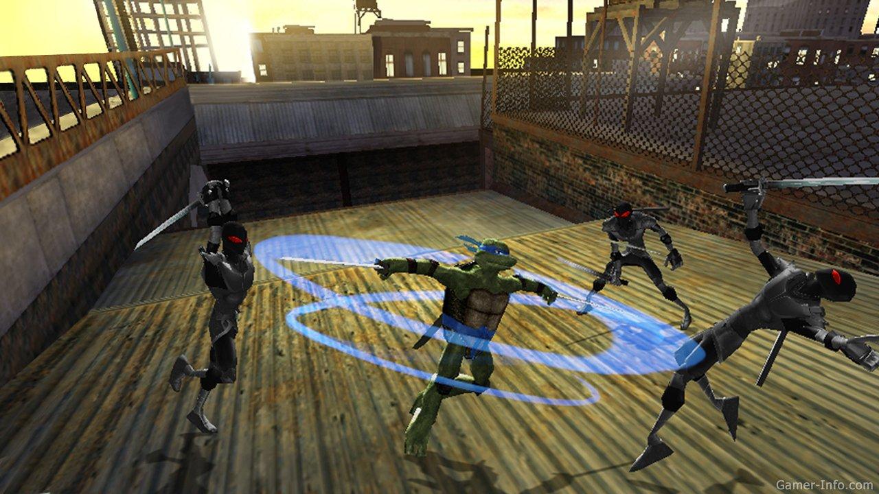 Игра черепашки ниндзя 2007 (для pc) • виртуальный мир черепашек ниндзя.