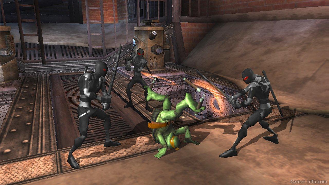 Игра черепашки ниндзя tmnt the video game бодибилдинг по системе арнольда шварценеггера
