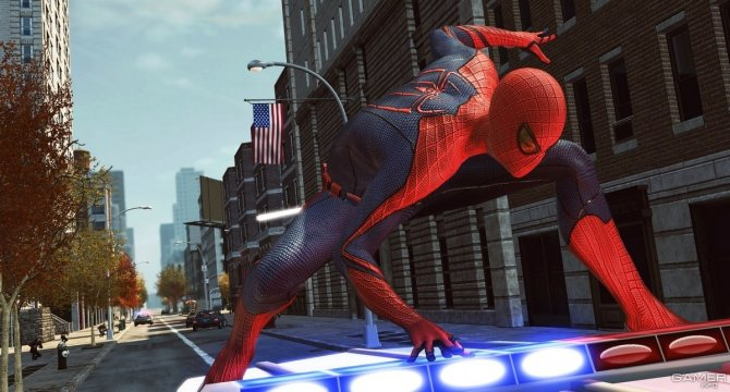 Скриншот игры Amazing Spider-Man: The Game