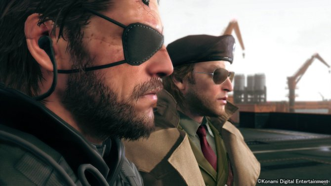 Скриншот игры Metal Gear Solid V: The Phantom Pain