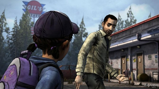 Скриншот игры The Walking Dead: Season Two