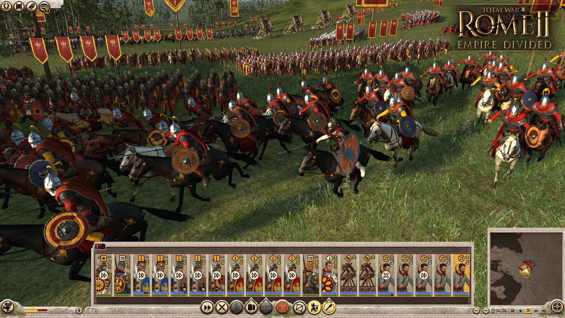Анонсировано DLC Empire Divided для Total War: ROME II