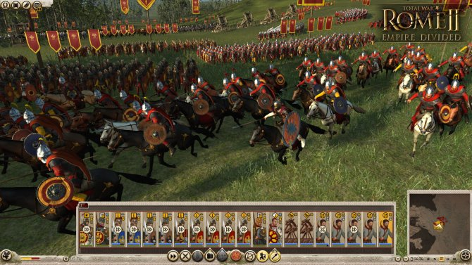 Скриншот игры Total War: ROME II – Empire Divided