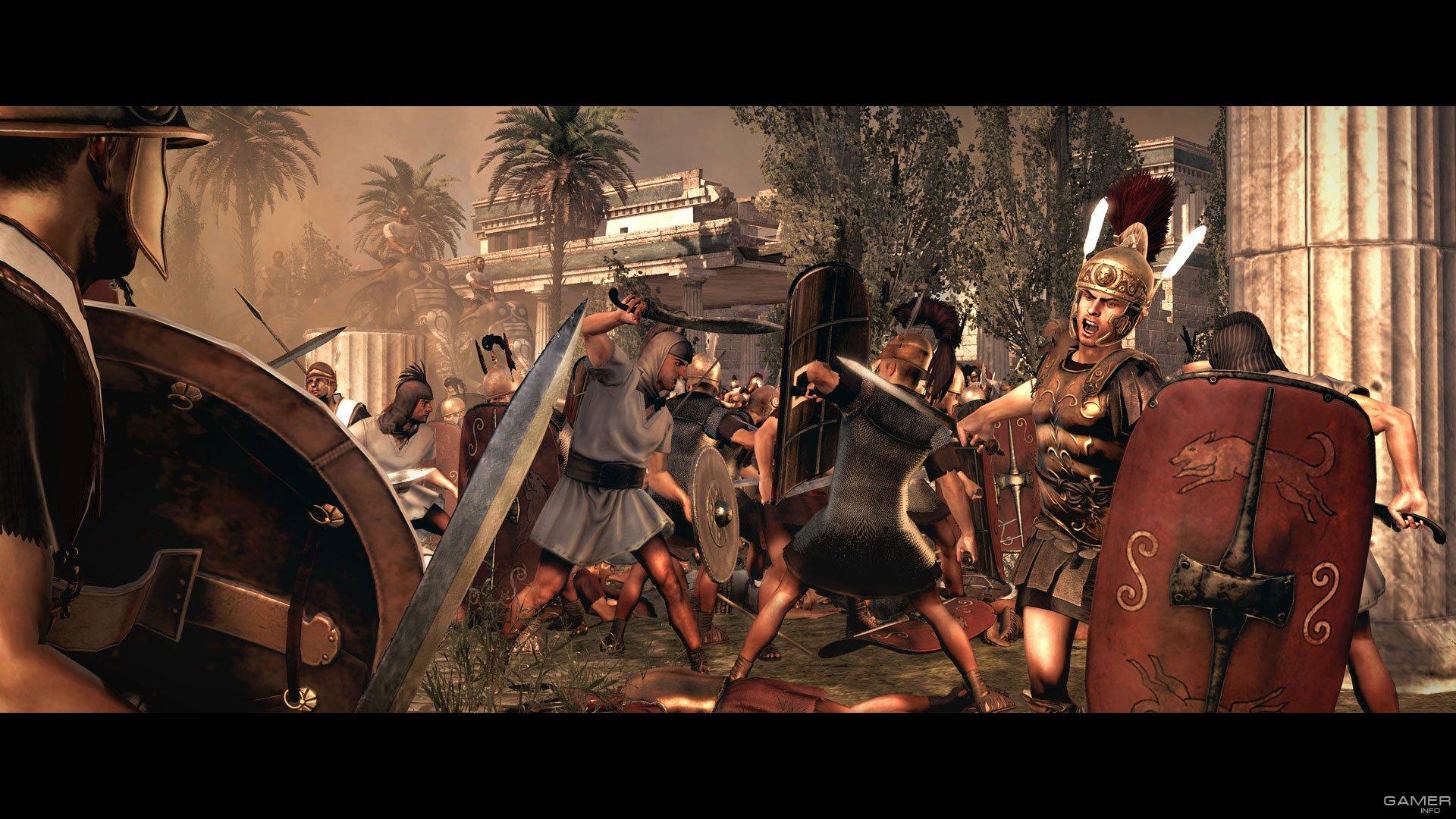 Скриншоты Total War: Rome II