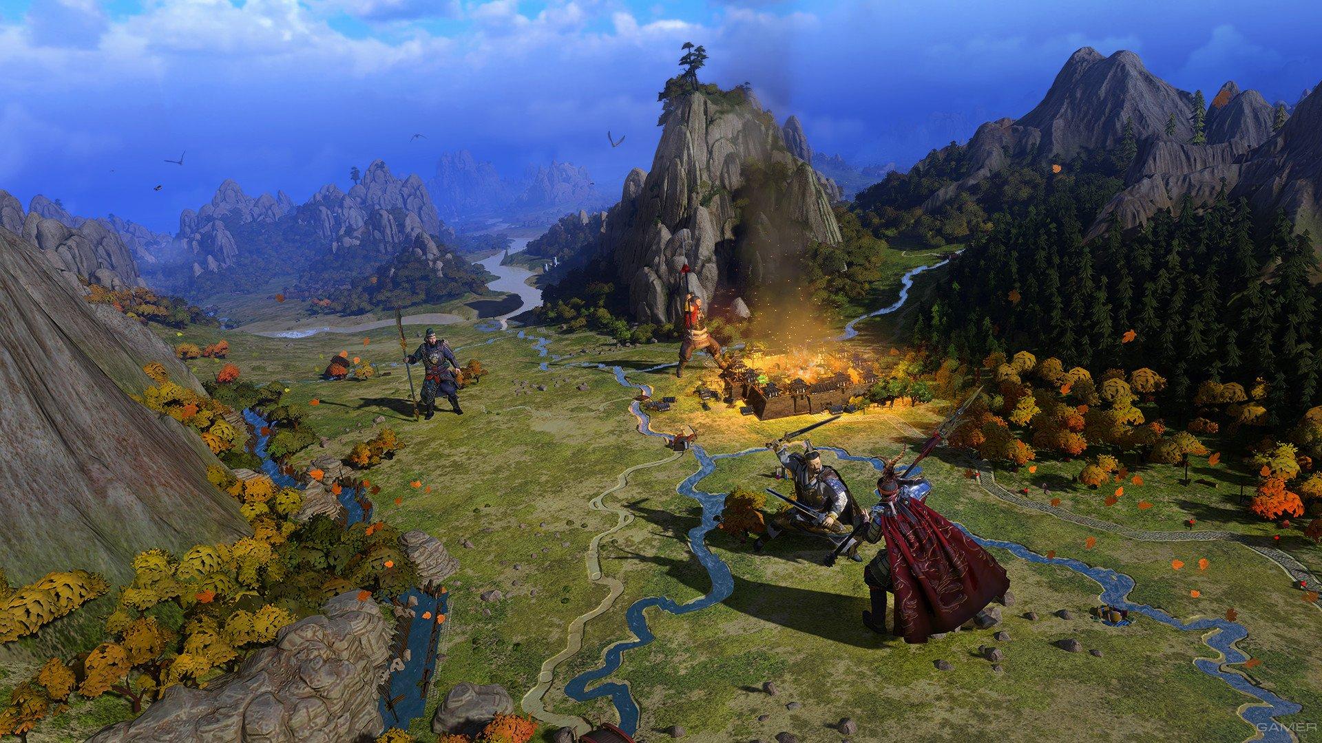 Системные требования Total War: Three Kingdoms