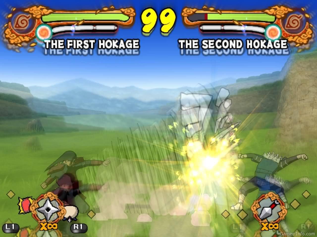 Скачать игру Naruto Shippuden Ultimate Ninja 5 для PS2 - Zidun