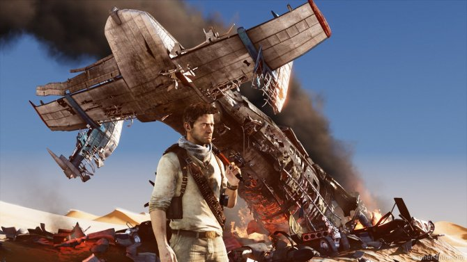 Скриншот игры Uncharted 3: Drake's Deception