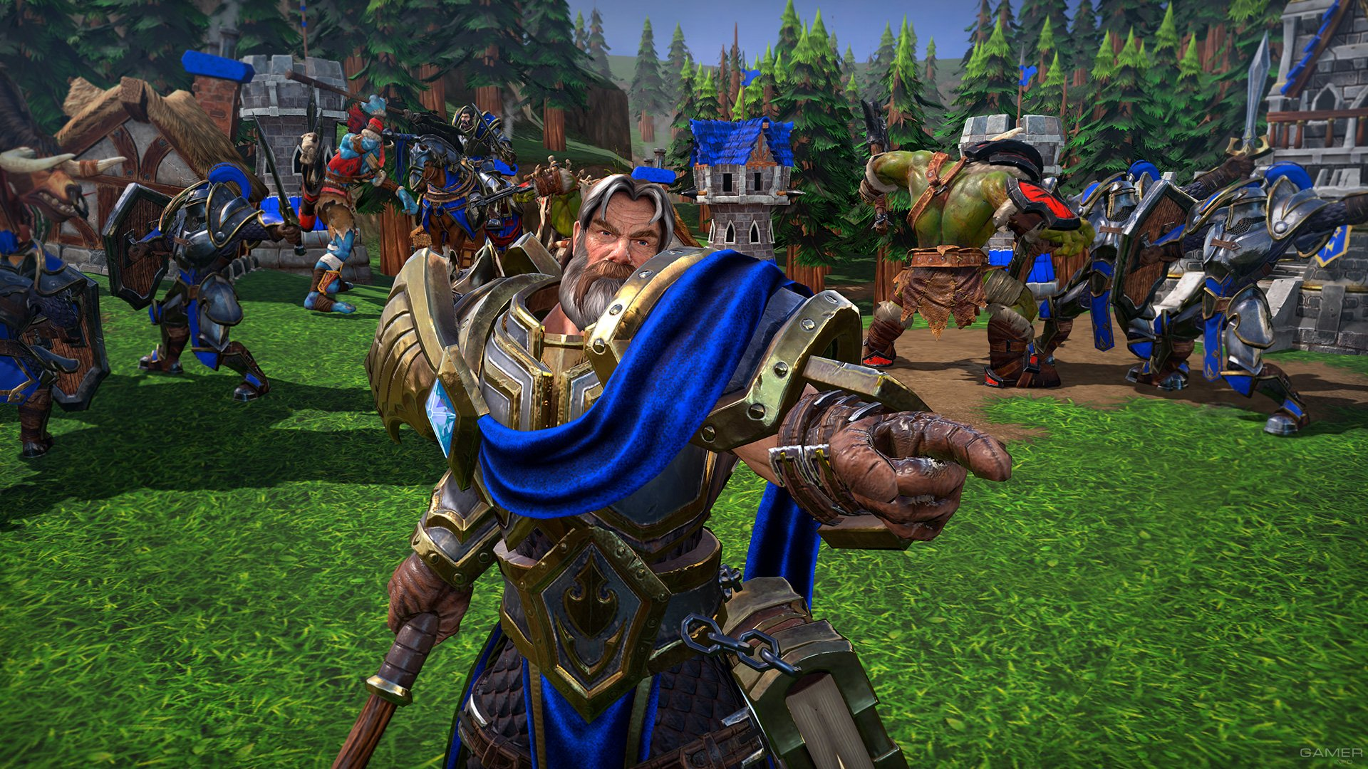 Warcraft III: Reforged получила точную дату релиза