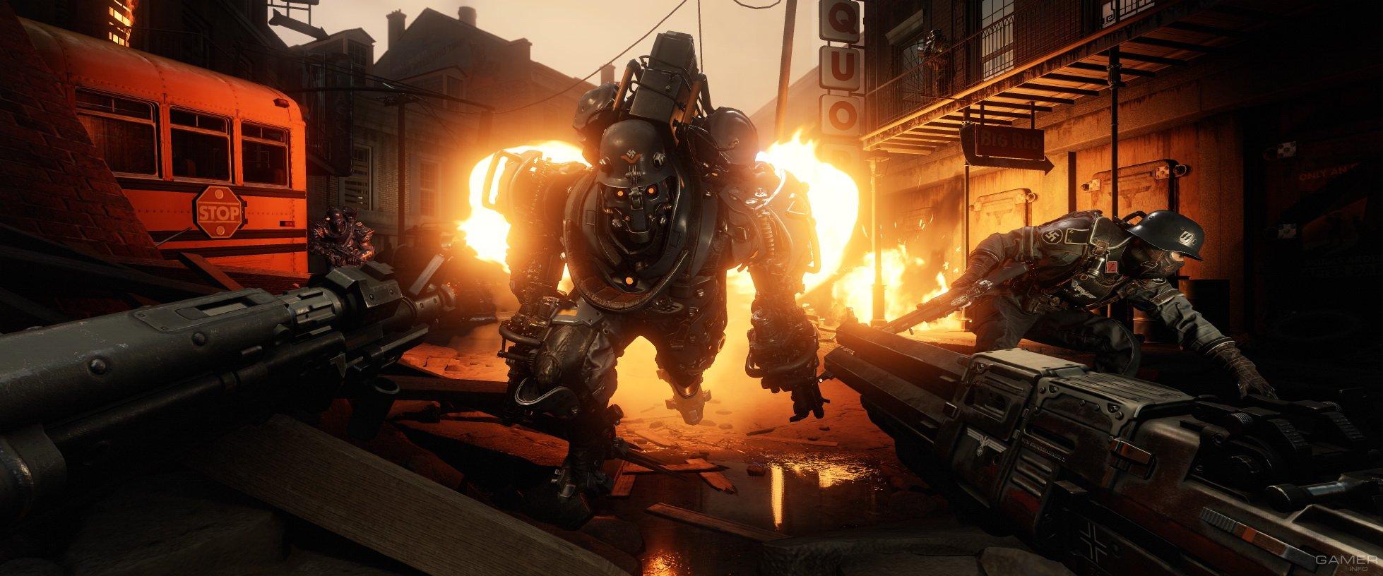 Даты выхода всех DLC для Wolfenstein II: The New Colossus