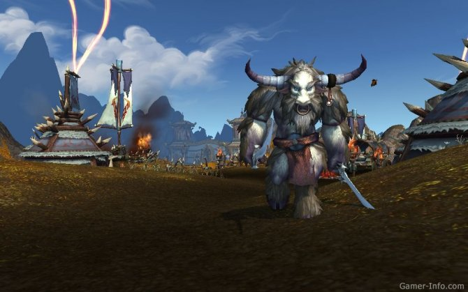 Скриншот игры World of Warcraft: Mists of Pandaria